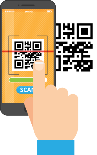 Mobile Scan QR code